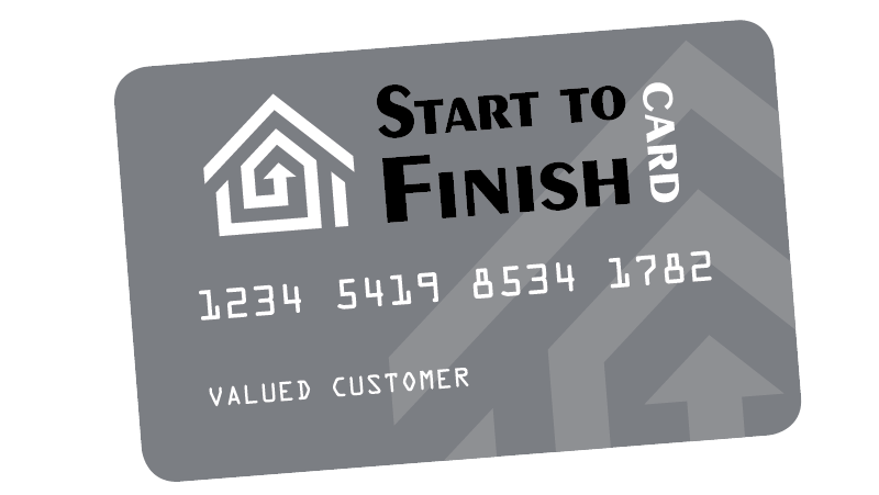 Start to Finish Credit Card